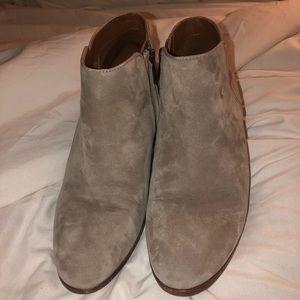 Grey Sam Edelman booties